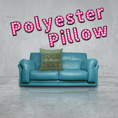 Garden Polyester Throw Pillow クッション