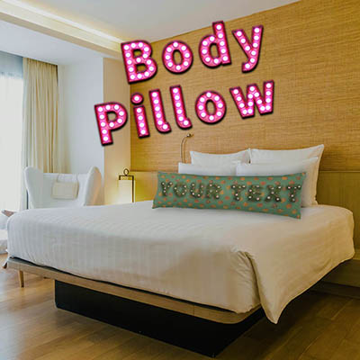Garden Custom Polyester Body Pillow ボディピロー